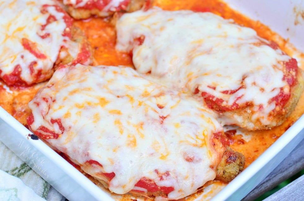 Amazing Chicken Parmesan 1 from willcookforsmiles.com