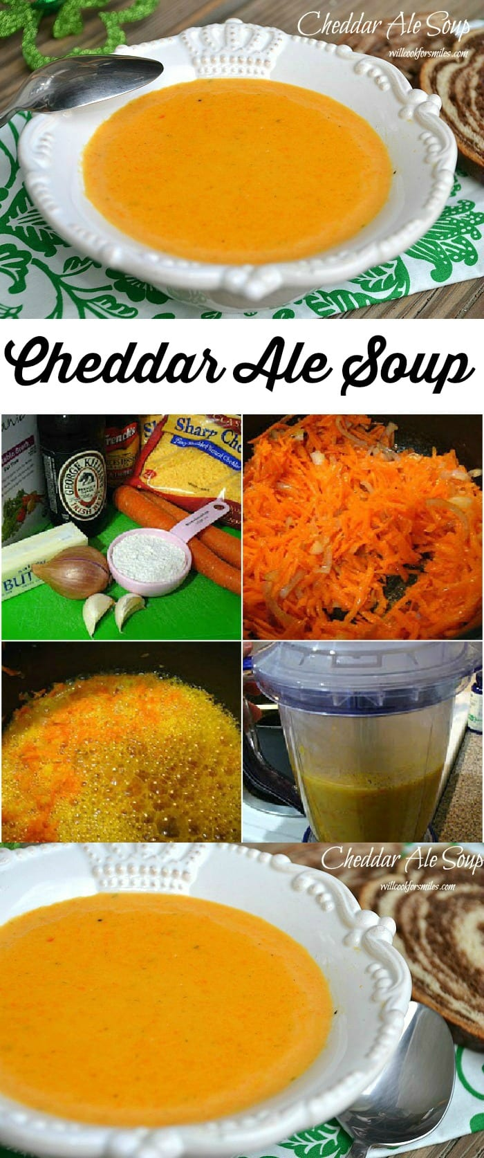 Cheddar Ale Soup from willcookforsmiles.com