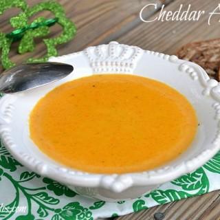 Cheddar Ale Soup!!