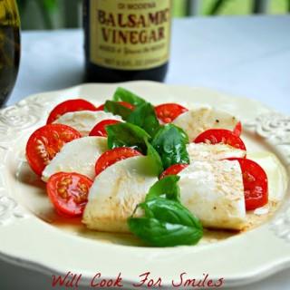 Classic Caprese Salad (homegrown)