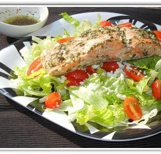 Salmon Feta Salad