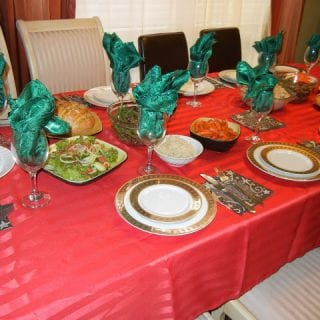 Our Chirstmas Dinner