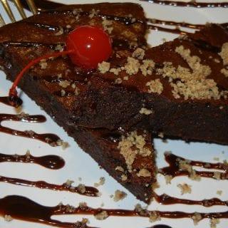 Flourless Pecan Chocolate Cake, MOM'S CRAZY COOKING CHALLENGE