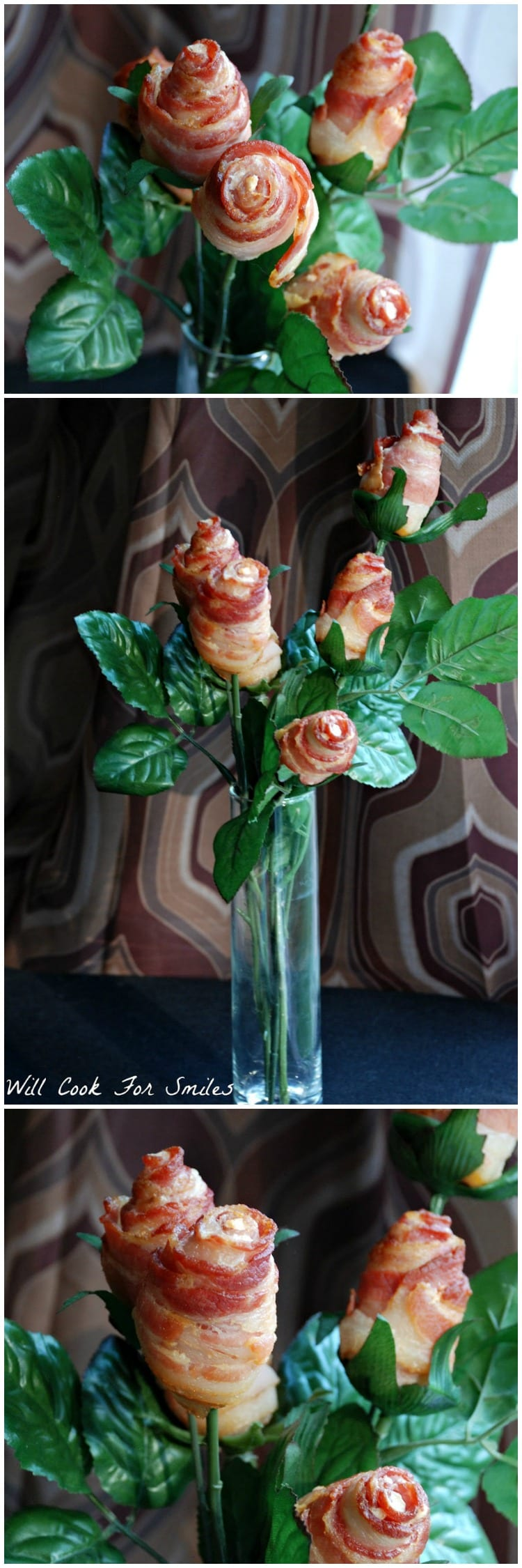 Bacon flower bouquet will cook for smiles bacon flower bouquet the ultimate flowers for your guy izmirmasajfo