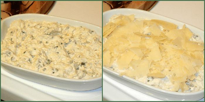 Crab dip recipe steps
