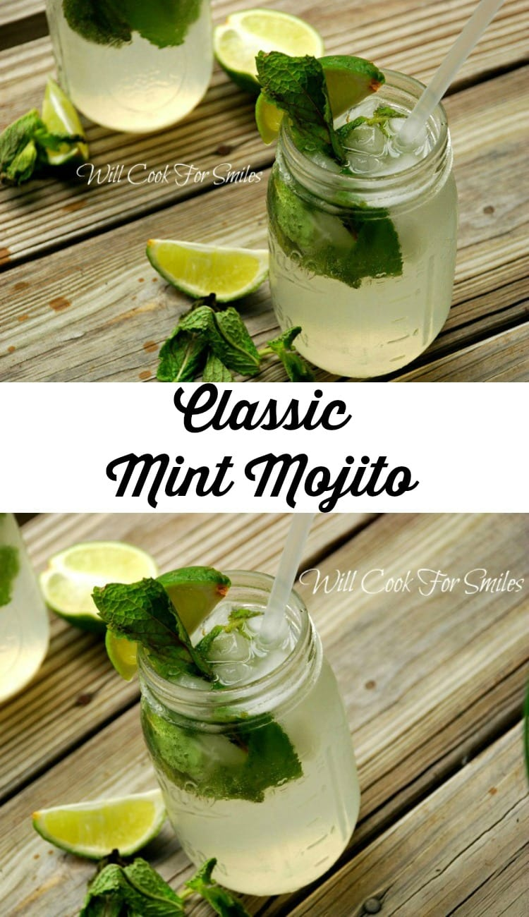 Classic Mint Mojito from willcookforsmiles.com