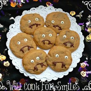 Spoooooky Cookies or Reese's Vampire Cookies