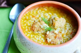 Chicken-Meatball-Orzo-Soup-1-from-willcookforsmiles.com-soup-chickensoup-orzo-650x429