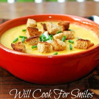 Potato Butternut Squash Soup