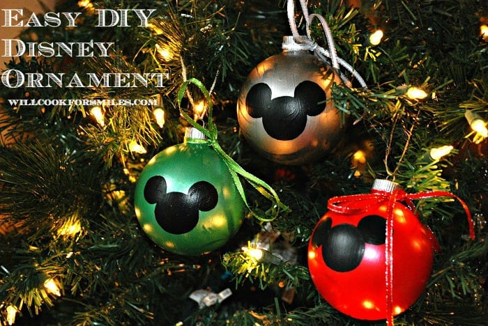 ive always wanted to make my own christmas ornaments but somehow never got around to it you might remember my christmas cookie jar project click if you - Mickey Mouse Christmas Decorations