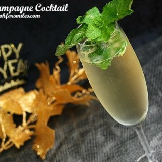 Five Days of New Year's Cocktails Countdown: Mint Champagne Cocktail
