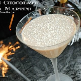 Five Days of New Year's Cocktails Countdown: White Chocolate Mocha Martini