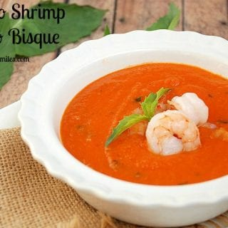 Shrimp Tomato Bisque (and Tips On What To Do With Leftover Tomato Puree) #CookClassico