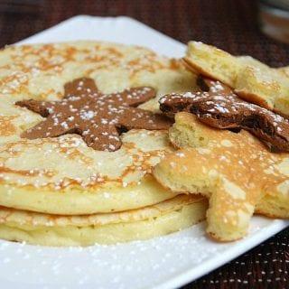 Snowflake Pancakes
