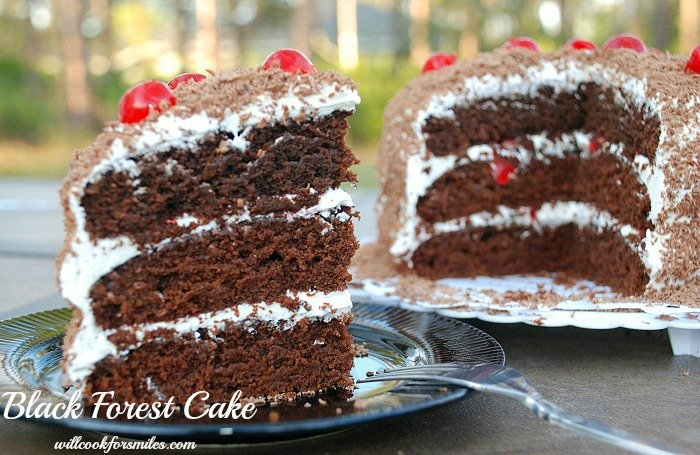 How To Make Frosting For Black Forest Cake