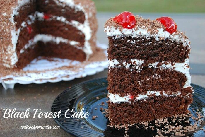 Easy Black Cherry Cake Recipe