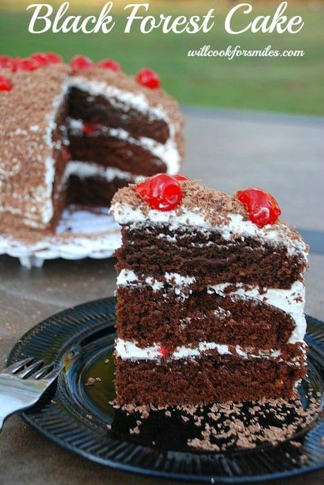Chocolate Cake Coming Up