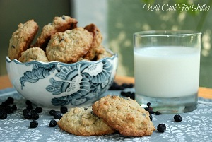 Blueberry Oatmeal Cookies 5 ed