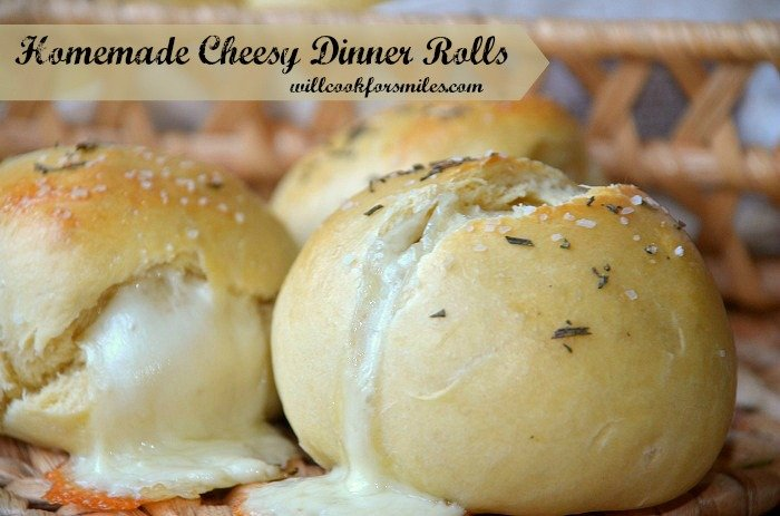 Homemade Cheesy Dinner Rolls Will Cook For Smiles