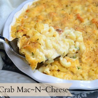 Baked Crab Mac And Cheese