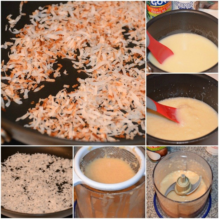 Homemade-Coconut-Syrup- Collage