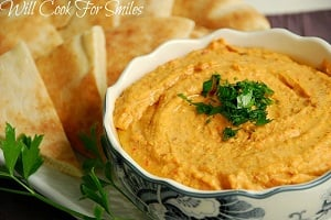 Red Pepper Hummus 4 ed
