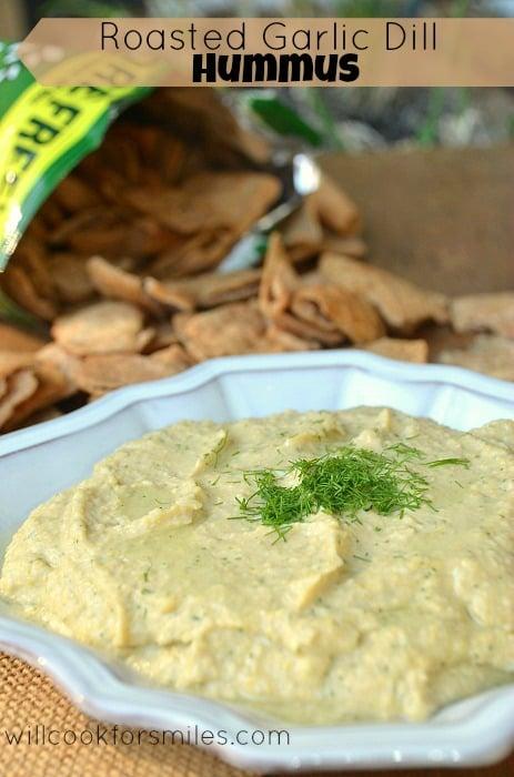 Roasted-Garlic-Dill-Hummus 2ed