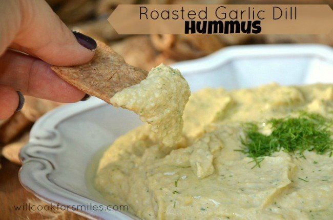 Roasted-Garlic-Dill-Hummus 4ed