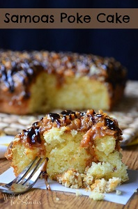 Samoas-Poke-Cake 2 willcookforsmiles.com