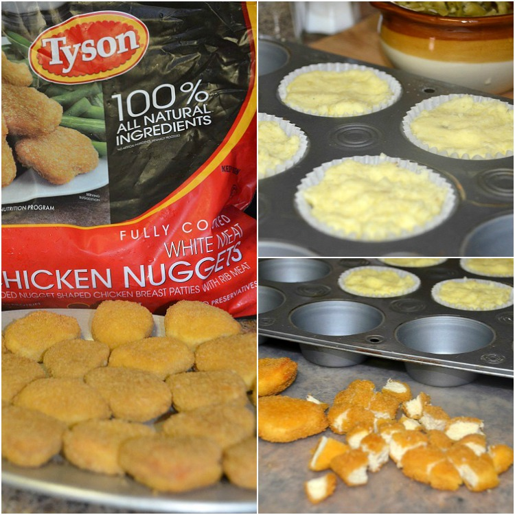 Chicken-Nugget-Cupcakes- Collage