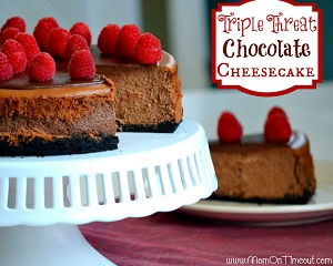 Chocolate Cheesecake Triple