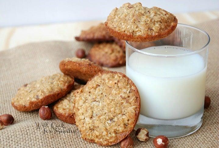 Hazelnut-Honey-Oatmeal-Cookies 21 willcookforsmiles.com