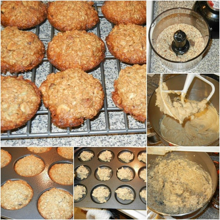Hazelnut-Honey-Oatmeal-Cookies Collage