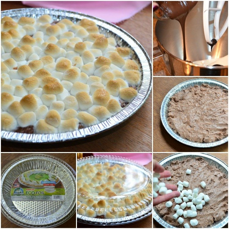 Hot-Chocolate-Cheesecake-Dip- Collage