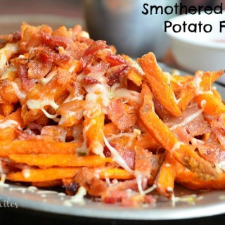 Smothered Sweet Potato Fries