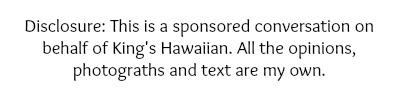 kings hawaiian disclosure