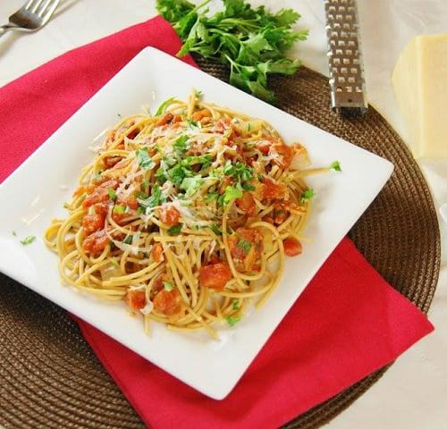 Bacon Spaghetti 1