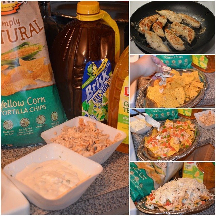 Chicken-Ranch-Nachos-with-Tostitos  Collage