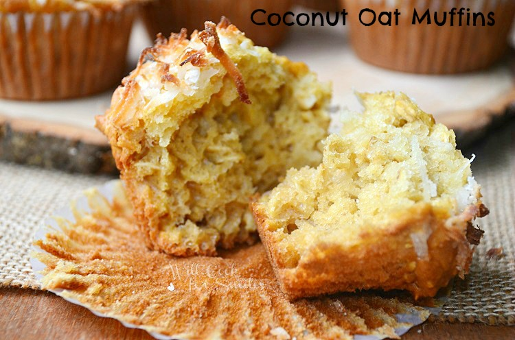 Coconut-Oat-Muffins 4 willcookforsmiles.com