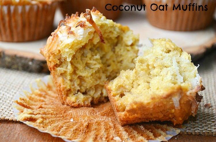 Coconut-Oat-Muffins 4 willcookforsmiles.com
