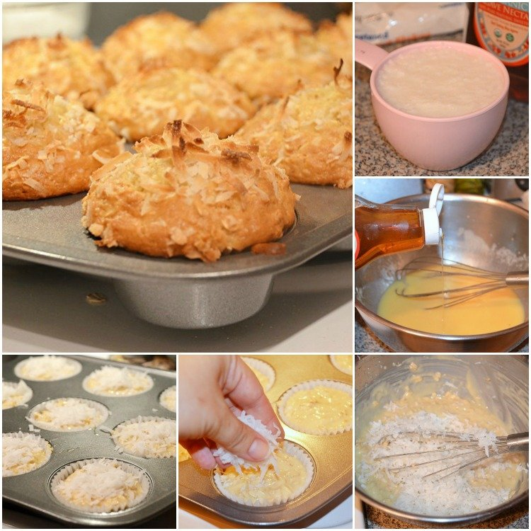 Coconut-Oat-Muffins Collage
