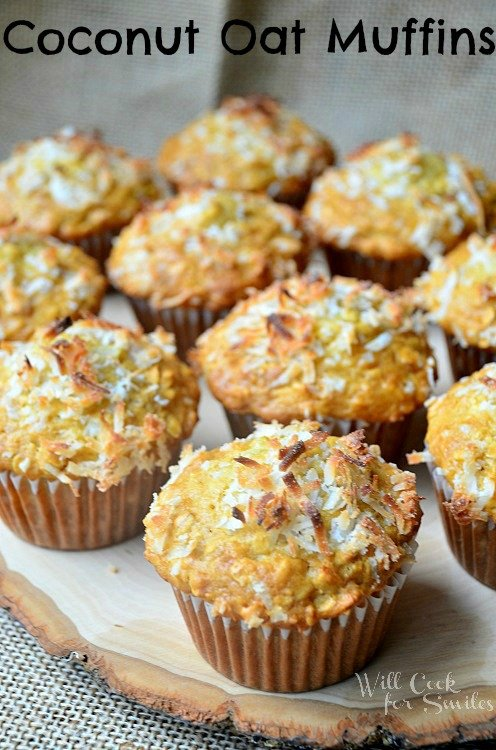 Coconut-Oat-Muffins willcookforsmiles.com