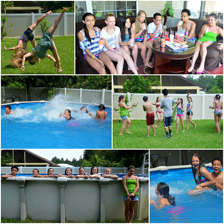 Float-Party Collage