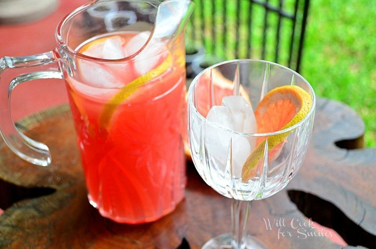 How to make grapefruit sangria