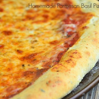 Homemade Parmesan Basil Pizza Dough