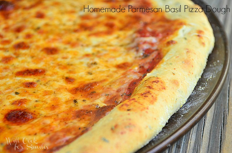 Homemade-Parmesan-Basil-Pizza-Dough 2 willcookforsmiles.com