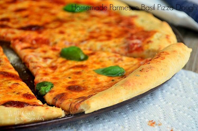 Homemade-Parmesan-Basil-Pizza-Dough 5 willcookforsmiles.com