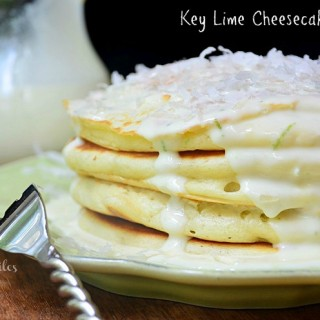 Key Lime Cheesecake Pancakes