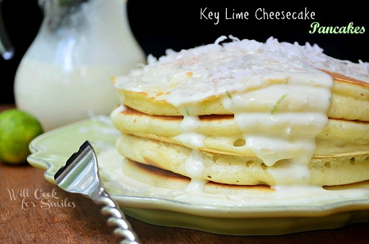 Key-Lime-Cheesecake-Pancakes 2 willcookforsmiles.com