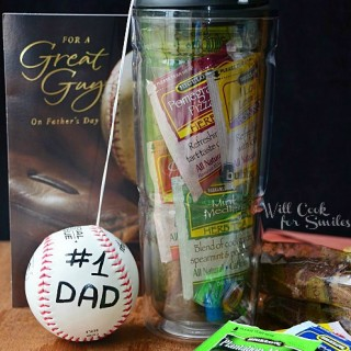 Last Minute Father's Day Gift In A Mug and Herbal Iced Tea